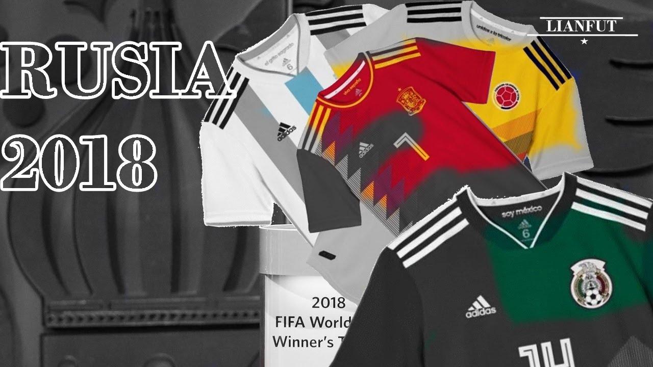 Adidas presento el UNIFORME para EL MUNDIAL DE RUSIA 2018. - YouTube ae8b6278ed72a