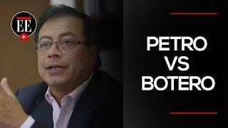 Petro recrimina al ministro de defensa por actuaciones del ESMAD | El Espectador
