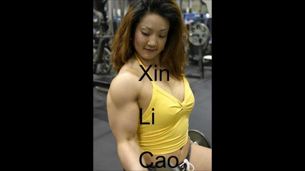 female Naked bodybuilders asian