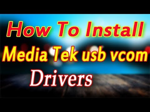USB VCOM Drivers Manual Installation | On Windows PC | Future Solution Hindi Video