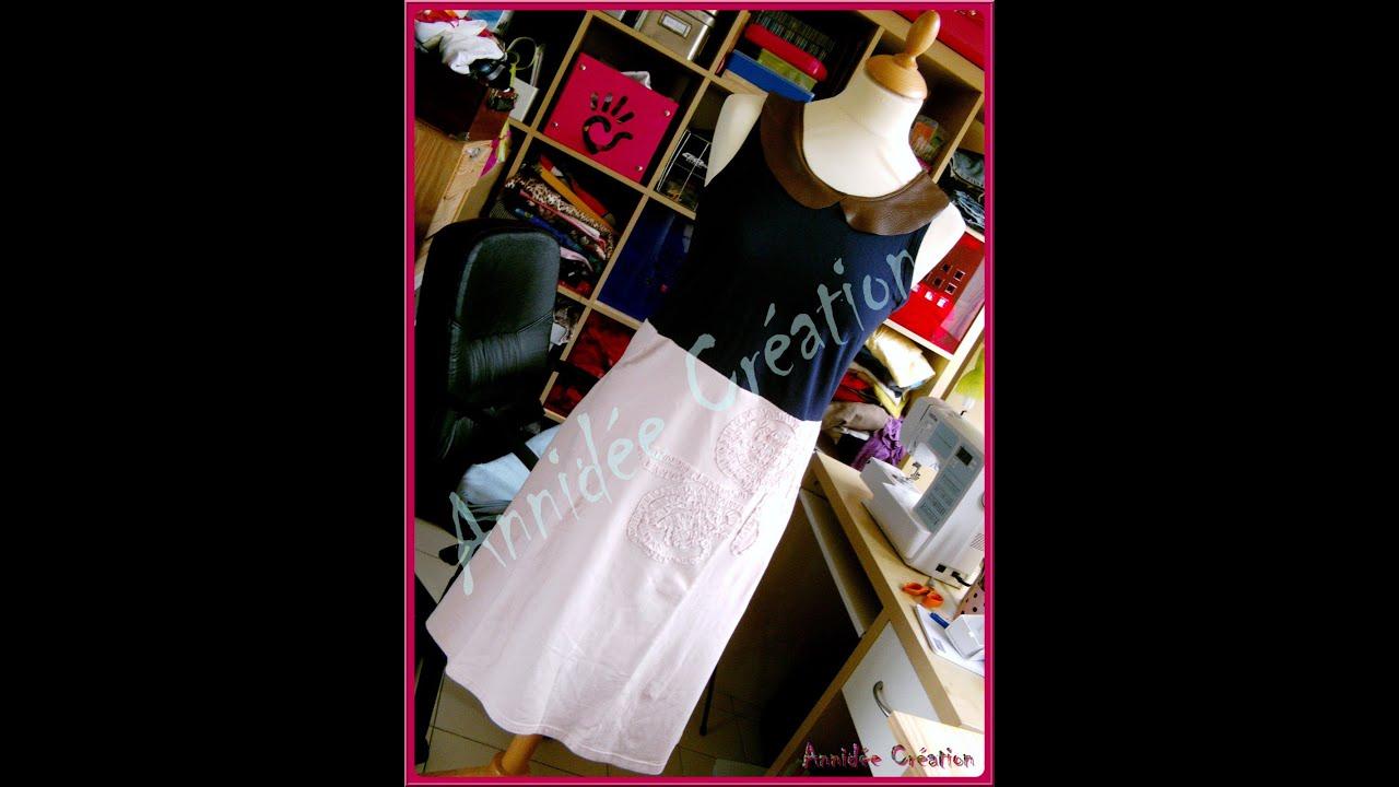 Faire d'un t shirt une robe