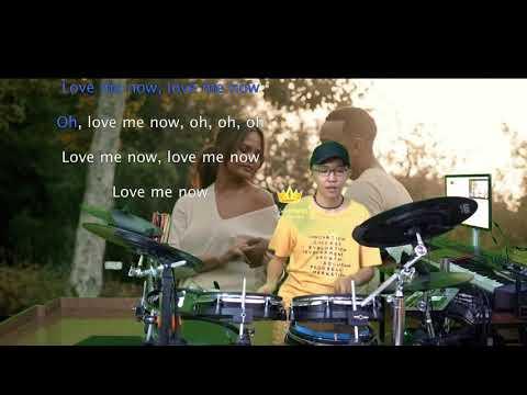 John Legend - Love Me Now (Karaoke Drum Cover by Timothy Liem)