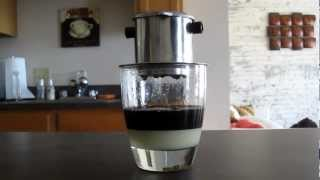 How To Make Vietnamese Iced Coffee!