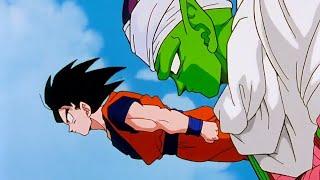 DRAGON BALL Z: Goku,Gohan, Crilin e Junior raggiungono la città del sud-in italiano