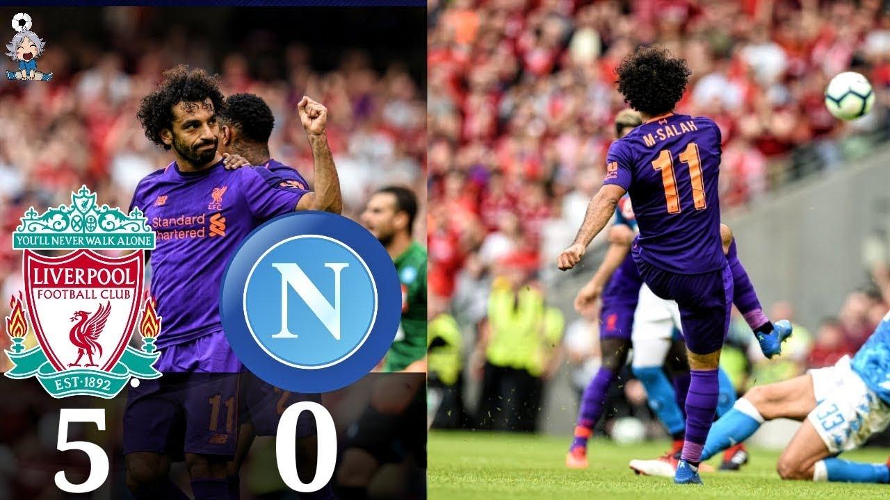 Download Liverpool vs Napoli All Goals & Highlights🔥04/08/2018 HD