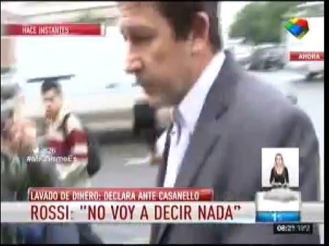 El Rossi se negó a declarar y presentó un escrito en Comodoro Py