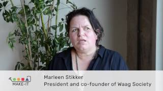 Which are the challenges for Maker CAPS? Marleen Stikker, President and Co-founder of Waag Society