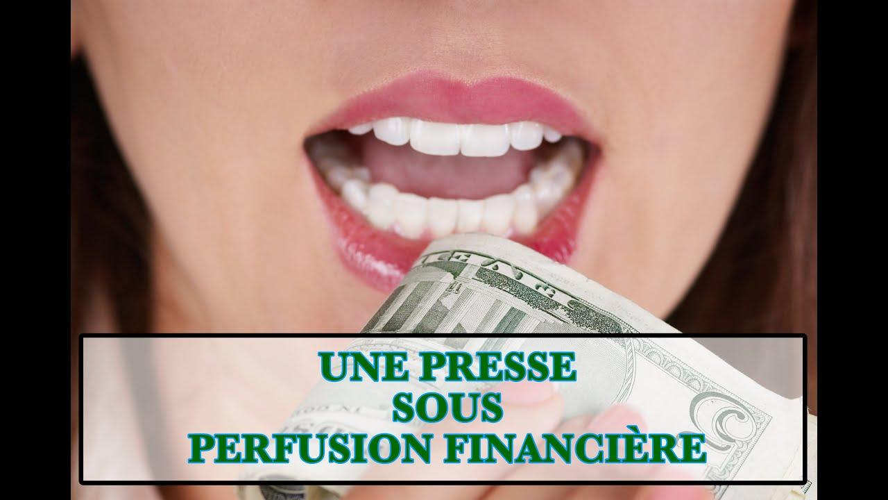 Une Presse sous Perfusion Financière