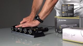 Ledlenser Flashlight i9R iron and i9 CRI - english