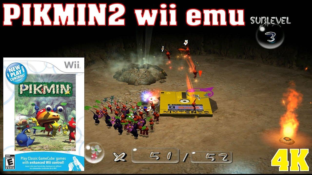 Pikmin 2 4k Rtx 2080ti Wii Emulator Dolphin 2 Hours Long Play