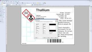 โปรแกรมพิมพ์บาร์โค้ดฟรี NiceLabel Designer Pro