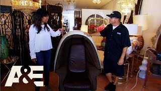 Storage Wars: Dave's Mid-Century Egg Chair (Season 8, Episode 12) | A&E