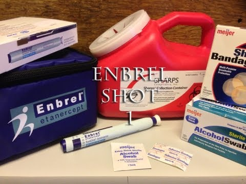 how to use enbrel sureclick