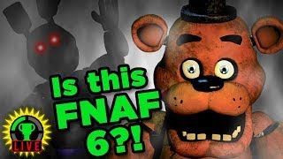 THE NEW FNAF GAME! (feat. The Voice of Freddy)