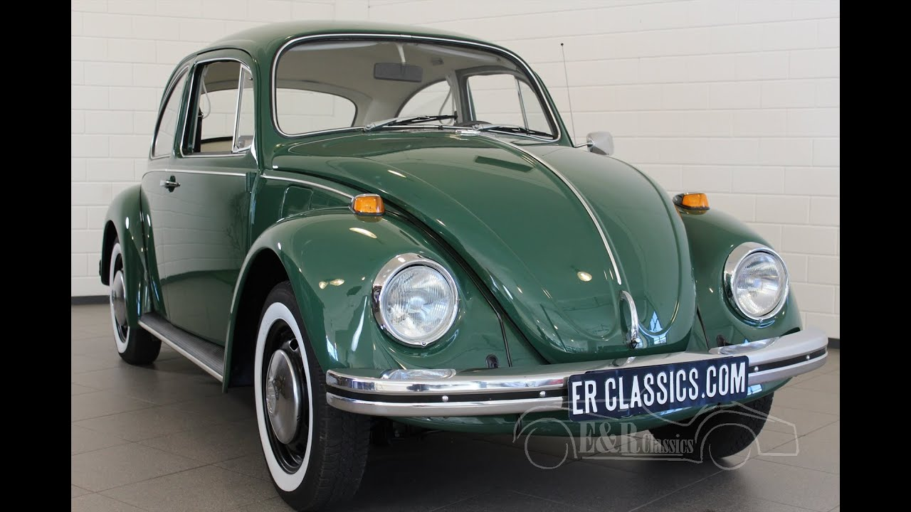Volkswagen Beetle Green 1969 New Paint Beautiful Car In Great Condition Video Www Erclics