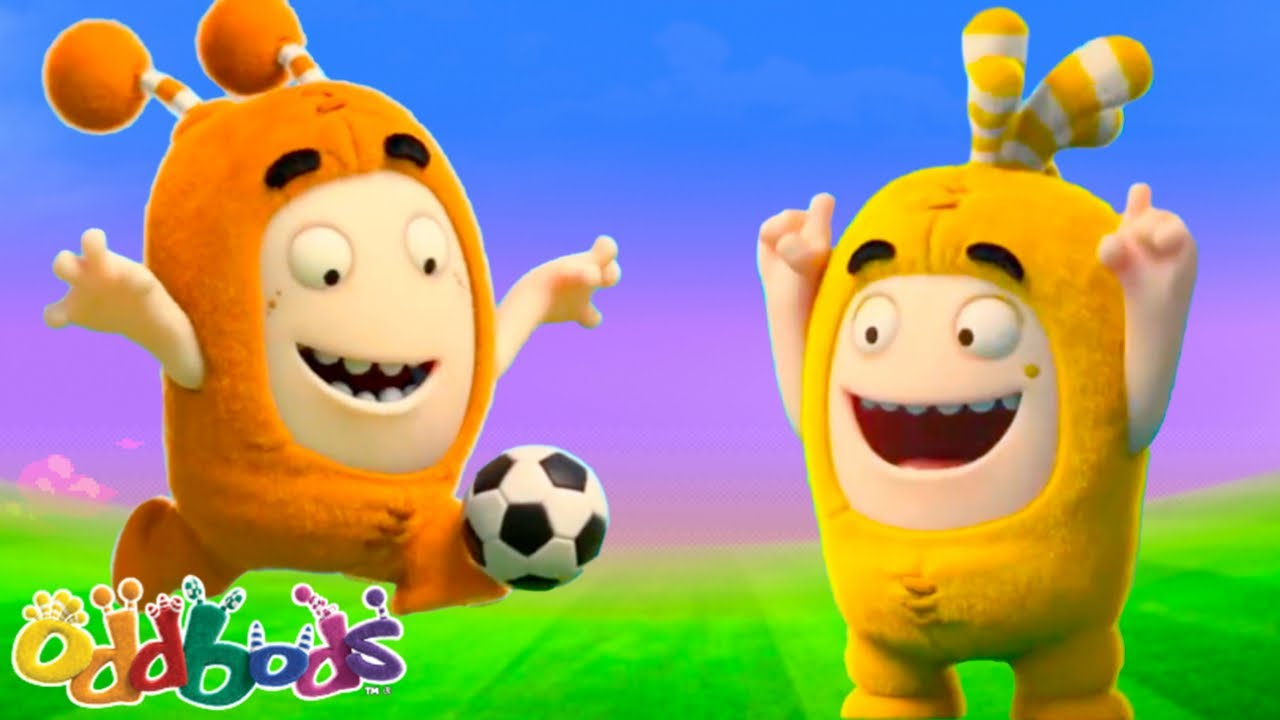 ODDBODS VS GREYBODS | Oddbods | Cartoons for Babies & Kids