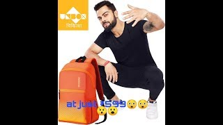 Unboxing American Tourister backpack at just ₹599