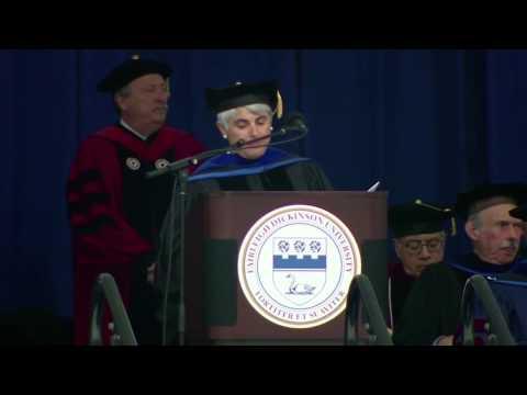 Angeliki Frangou Fairleigh Dickinson University 2015 Commencement Speech