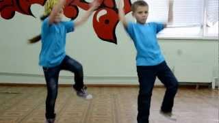 Sis n Bro Mini Hip-hop, Марина и Максим, школа№95, г.Кишинёв