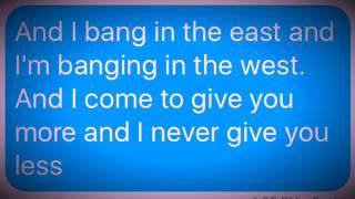 Look at me now Chris Brown Lyrics/Clean