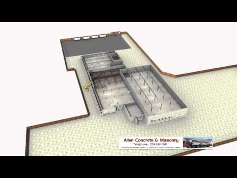Allen Concrete & Masonry Pre-Construction 3D Analysis