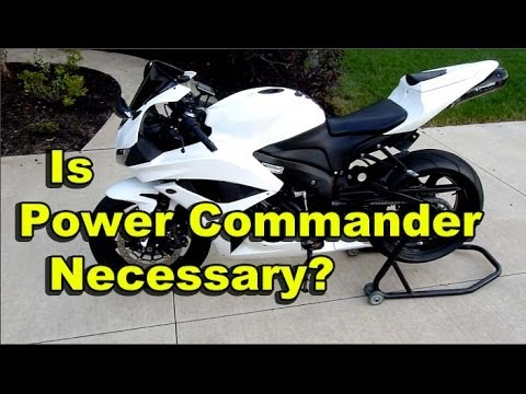 Is Power Commander Needed For Slip On Exhaust Cbr600rr Two Brothers Black Series Exhaust