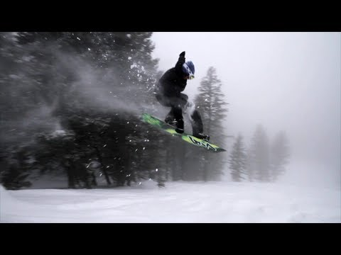 Ian Walsh Surfs Pow At Grand Targhee Resort