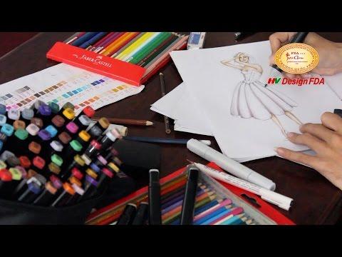 Video quá trình đào tạo Nhà thiết kế thời trang Việt Nam