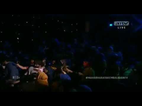 kolaborasi spektakuler Dewi persik feat danang show mahabarata kembali antv