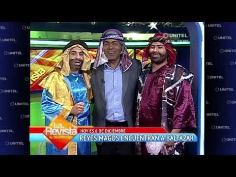 """Humor: Los dos """"Reyes Magos"""" encontraron al tercer rey mago llamado 'Baltazar'"""