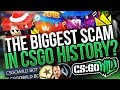 This May be the BIGGEST SCAM in CS:GO History....