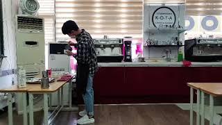 [한국사회교육원] 바리스타 1급 자격증 10분 시연과정