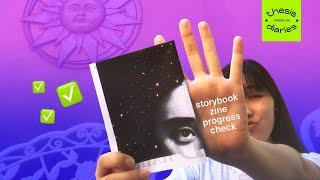 storybook zine progress - Thesis Diaries Ep.03