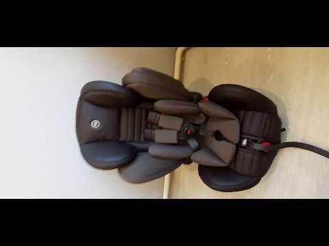 Автокресло группа 123 Happy Baby Mustang, 9 36 кг, темно коричневый. г. Гурьевск продажа Avito