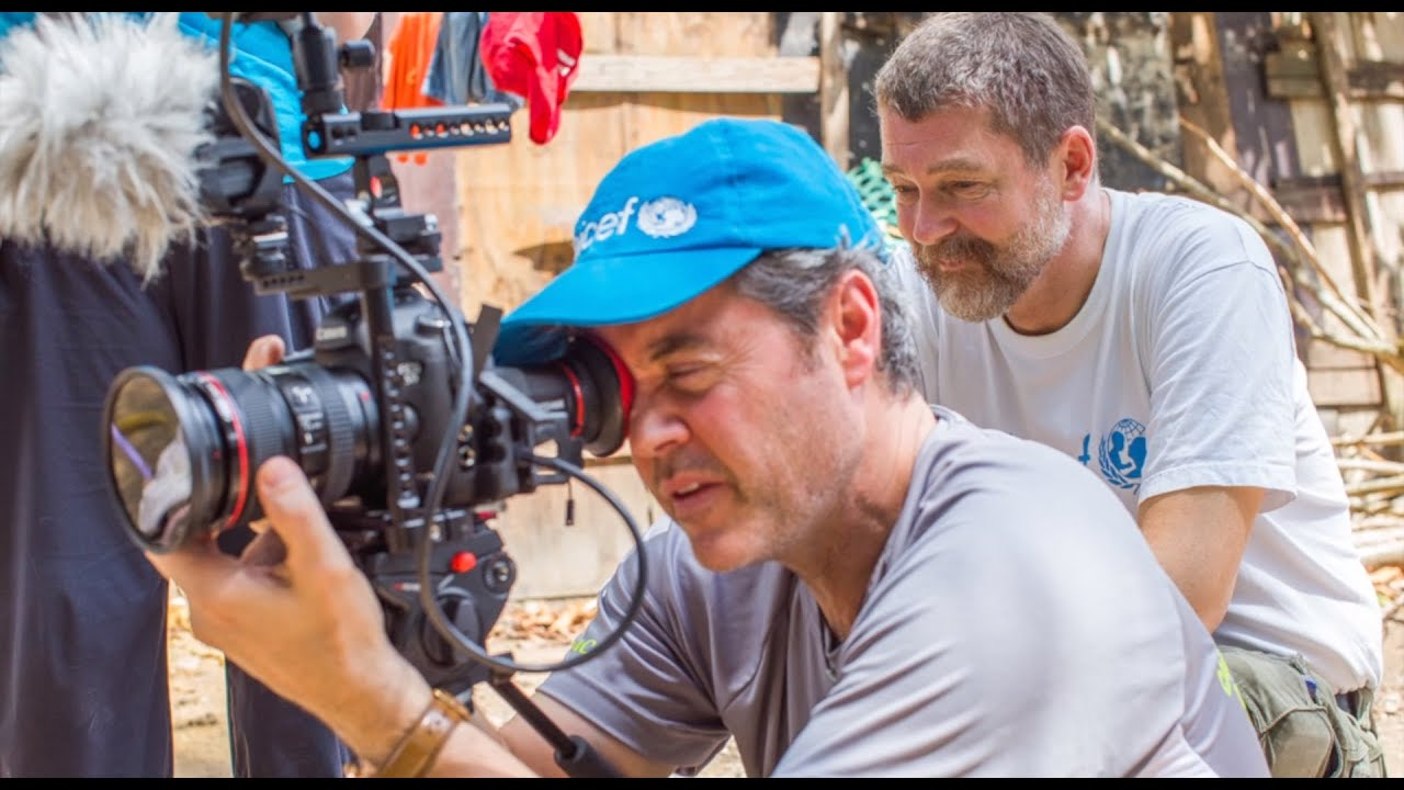UNICEF Masy Rob Patmore testimonial