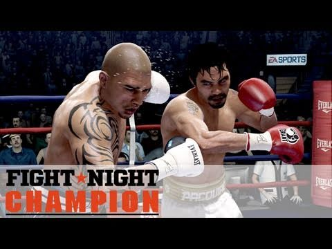 Fight Night: Champion - Miguel Cotto Vs Manny Pacquiao Gameplay (HD 720p)