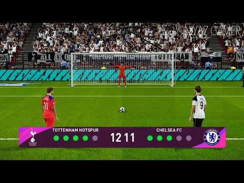 PES 2021 | Tottenham vs Chelsea FC | Penalty Shootout | Gameplay PC