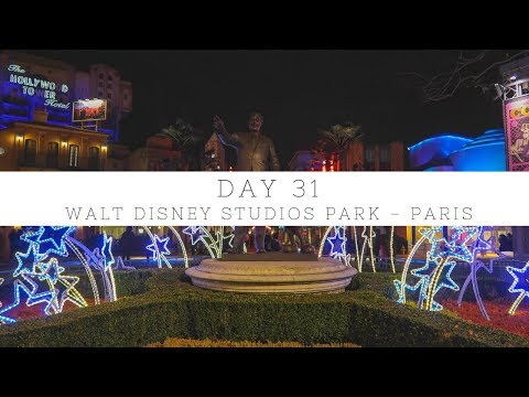 EXPLORING WALT DISNEY STUDIOS PARK IN PARIS | DAY 31 | EUROPE 2017/18