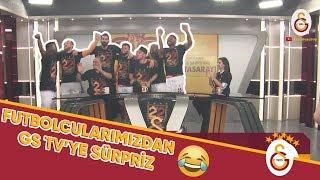 Futbolcularımızdan GS TV'ye Sürpriz Ziyaret #ŞampiyonGalatasaray  | #GSvBŞK