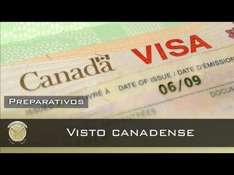 🌏#31 - Como Tirar O VISTO Canadense (turismo)⛺