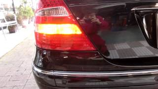 a turn signal of w211 benz is exchanged for led