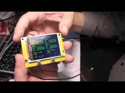T50-W обзор отличного вольтметра на STM32
