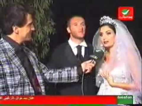 Cyrine Abdel Nour's Wedding Video Part 1 Rotana
