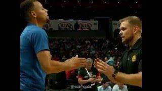 LeBron vs Ball Boy vs Curry