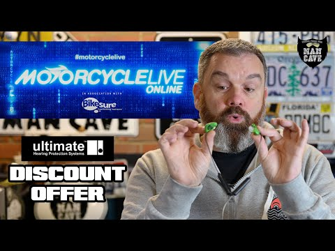 Ultimate Hearing Protection Systems - Motorcycle Live 2020 Discount Offer