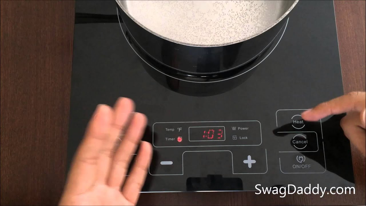 Heating Induction Cook Tops ~ Precise heat portable countertop induction cooktop review