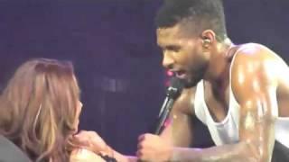 Usher simula sexo com fã no palco ...