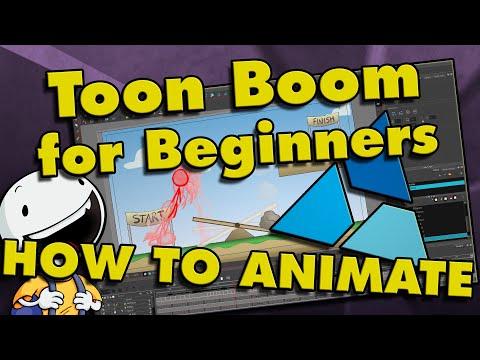 Toon Boom Harmony Tutorial for Beginners: How To Make a Cartoon!