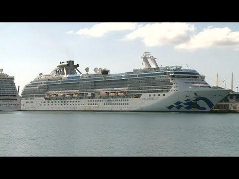 Coronavirus: un navire avec deux morts à bord accoste à Miami | AFP Images