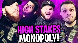 LATE NIGHT HIGH STAKES MONOPOLY!! W/ MARCEL, COURAGE, LEGIQN & TREVOR MAY